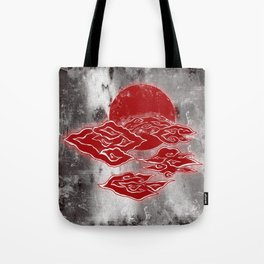 The Red Clouds Tote Bag