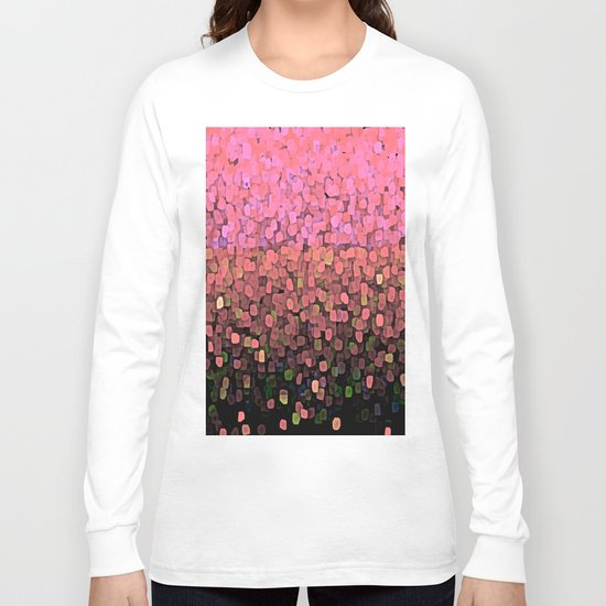 Sparkles and Glitter Pink Long Sleeve T-shirt