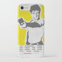 taxi driver iPhone & iPod Cases featuring Taxi Driver by Geminianum