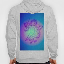 Heavenly apparition  Angel Music Hoody