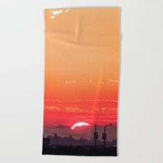 Summer Sunrise I Beach Towel