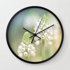 Dreamy Grape Hyacinth.... Wall Clock