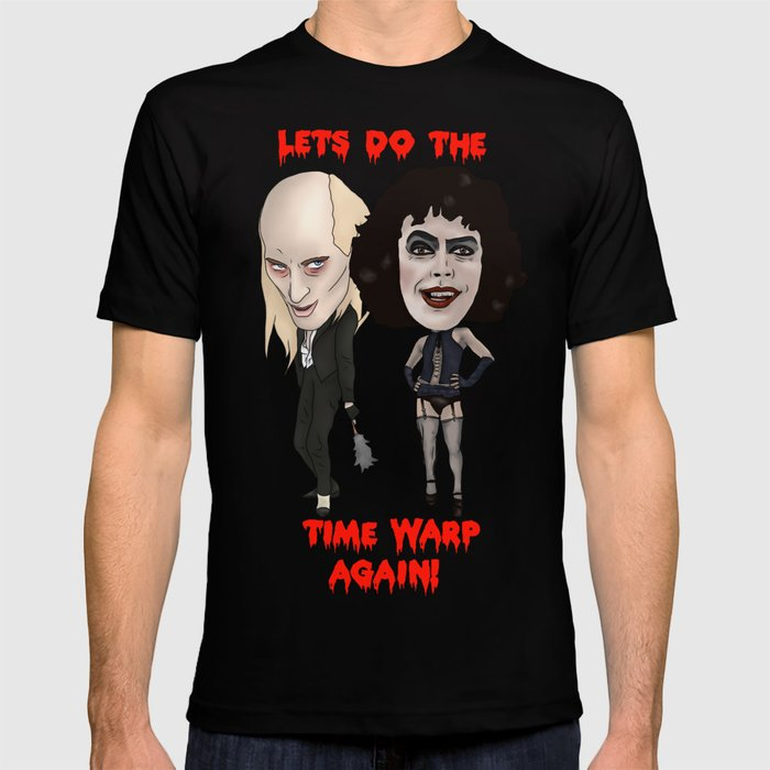 5305c871e Rocky Horror Picture Show Time Warp T-shirt by melancholydolly ...