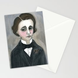 Lewis Carroll and the Cheshire Cat Stationery Cards