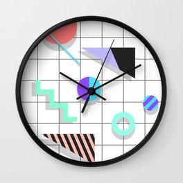 Memphis Things Wall Clock