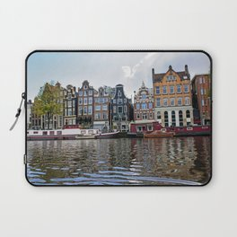 Dancing Houses of Amstedam Laptop Sleeve