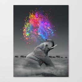 True Colors Within Canvas Print