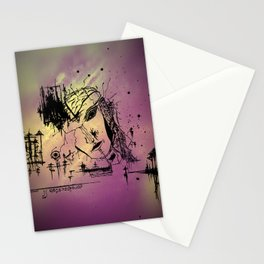 """""""Facade"""" Stationery Cards"""