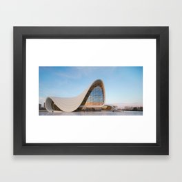 Zaha HADID | architect | Heydar Aliyev Center Framed Art Print