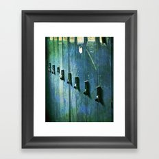 In:Locked:Out Framed Art Print