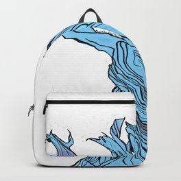 Twists And Turns. /// Backpack