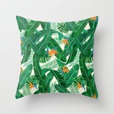 Tropicalious Throw Pillow