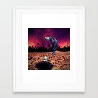 golf Framed Art Prints featuring Golf by Cs025