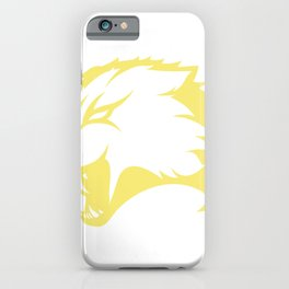Abstract Wolf Illustration iPhone Case
