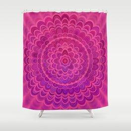 Love Mandala Shower Curtain