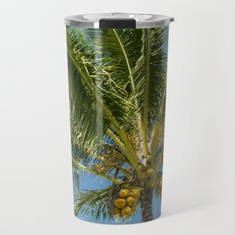 Hawaiian Coconut Palm Tree Travel Mug