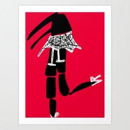 Boudoir Bits 8 Art Print