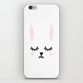 Down the Bunny Hole iPhone Skin