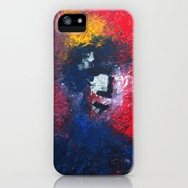 Man with no title iPhone Case
