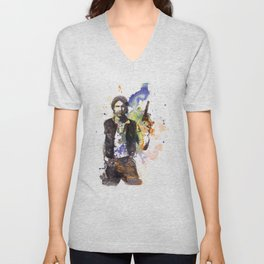 Han Solo From Star Wars  Unisex V-Neck