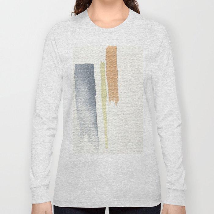 tri-color Long Sleeve T-shirt