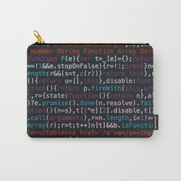 Computer Science Code Carry-All Pouch