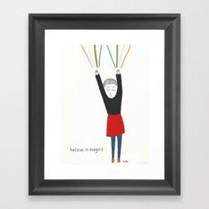 magics Framed Art Print