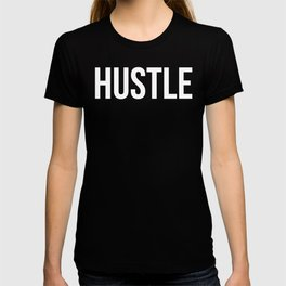HUSTLE (Black & White) T-shirt