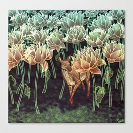 Fallow Forest Canvas Print