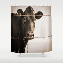 How Now, Brown Cow? Shower Curtain