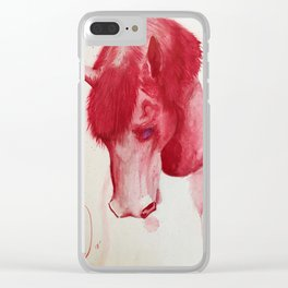 HorseVana Clear iPhone Case