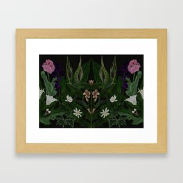 The Poison Garden - Datura Framed Art Print