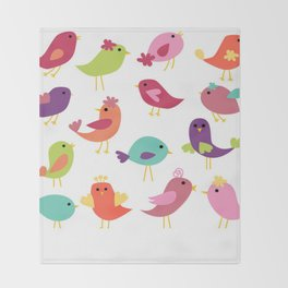 BIRDY Throw Blanket