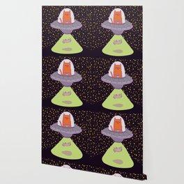 Alien Kitty Obduction Wallpaper