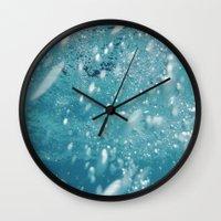 underwater Wall Clocks featuring Underwater by adriaaannn