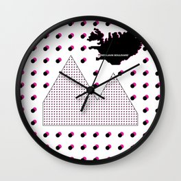Reykjavik Boulevard #16 Wall Clock