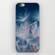 Snow Dandelion iPhone Skin