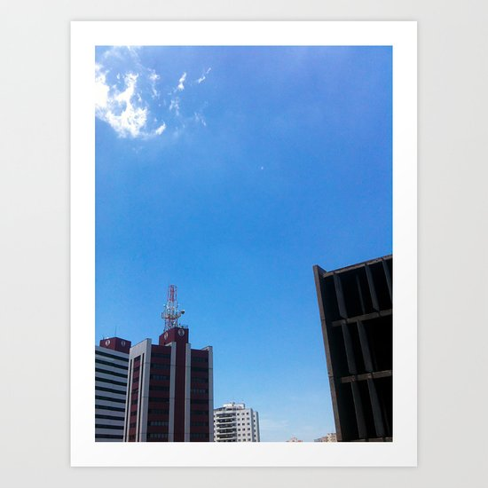 Building II Art Print