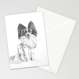 Papillion (Butterfly Dog) Stationery Cards