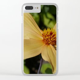 Garden Lady Clear iPhone Case