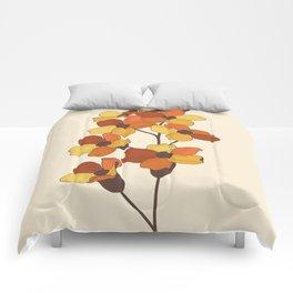 70's Flowers Comforters