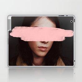 Portrait of a Woman Blushing. Laptop & iPad Skin