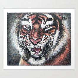Tiger {Painting} Art Print