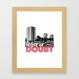 Bowie Sense of Doubt Framed Art Print
