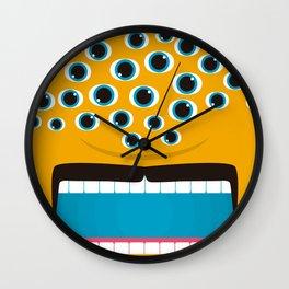 It's a Orange Mosnter! Wall Clock