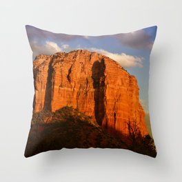 COURTHOUSE ROCK - SEDONA ARIZONA - 2 Throw Pillow