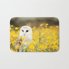 Australian Barn Owl (Tyto Alba) Bath Mat