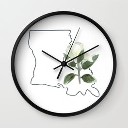 LA // magnolia Wall Clock