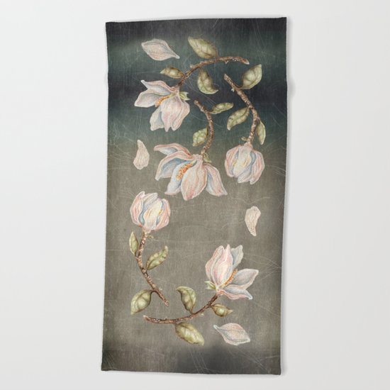 Magnolie Beach Towel