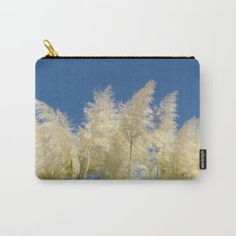 pampasgrass and blue sky Carry-All Pouch
